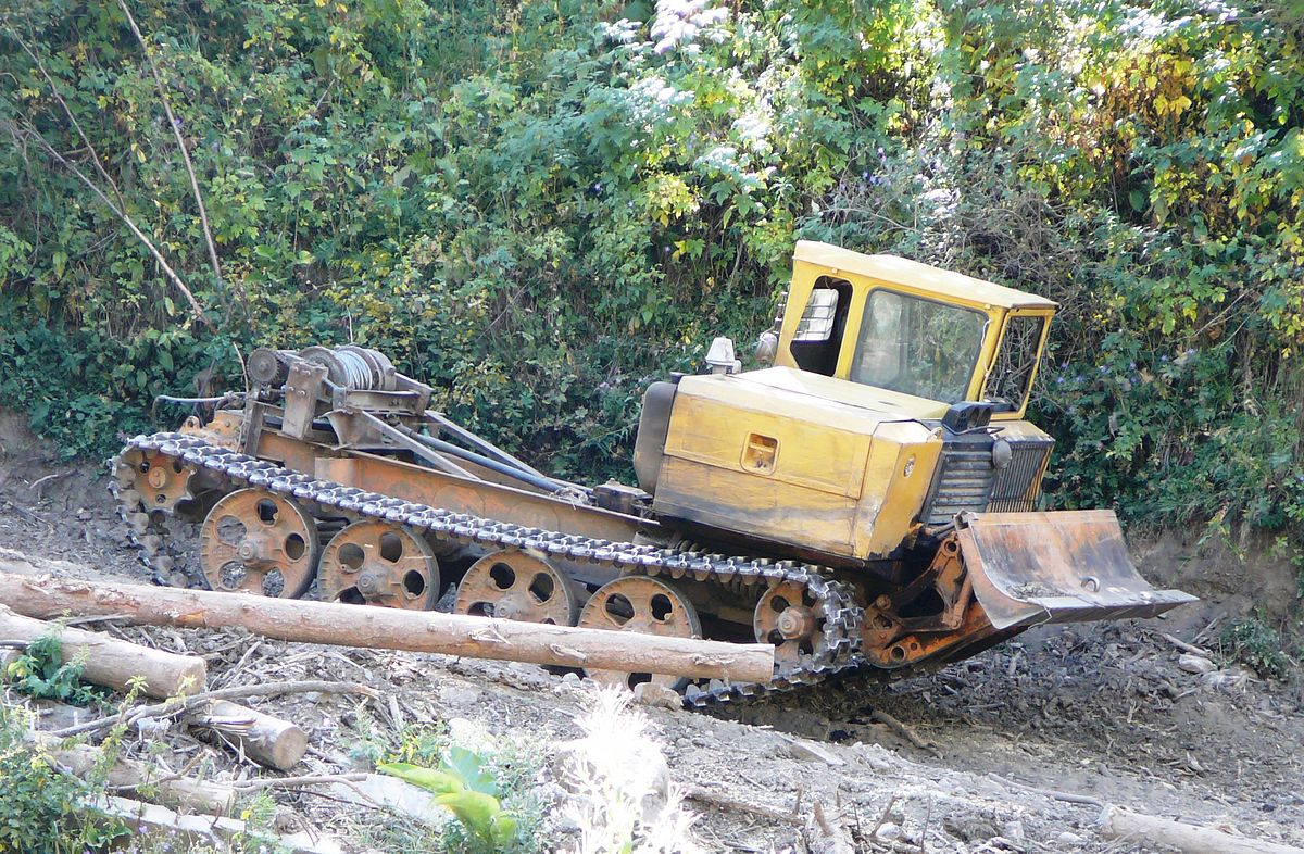Аренда трелевочного трактора