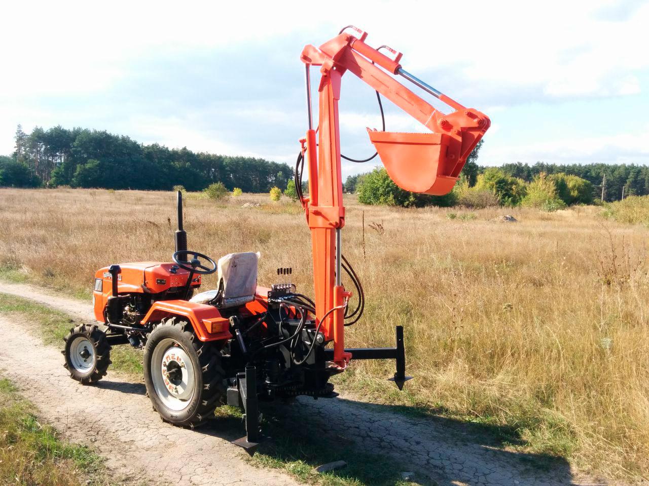 Аренда мини трактора