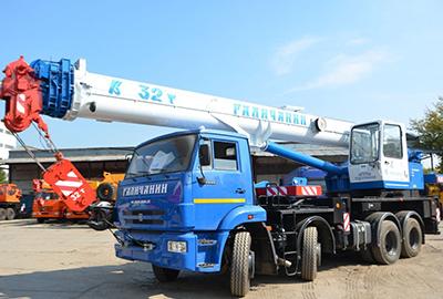 Аренда автокрана 32 тонны