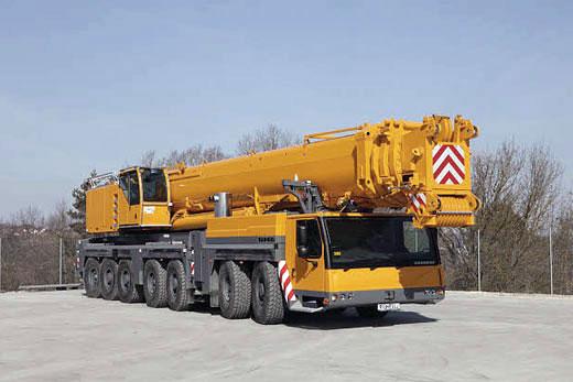 Аренда автокрана 400 тонн