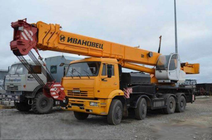 Аренда автокрана 50 тонн