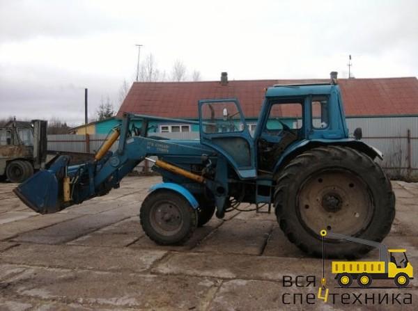 Аренда трактора экскаватора