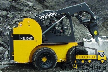 Мини погрузчики Hyundai