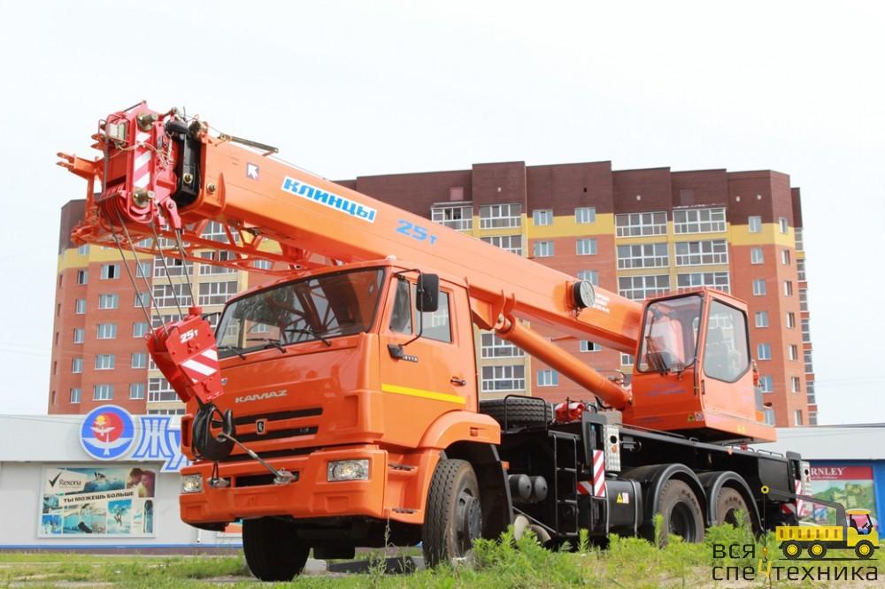 25 тонный кран